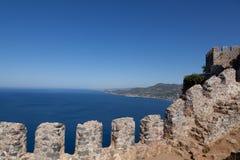 Castello di Alanya Fotografie Stock