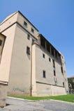 Castello di Albornoz. Viterbo. Il Lazio. L'Italia. Fotografia Stock