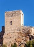 Castello di Almansa Fotografia Stock Libera da Diritti