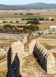 Castello di Almansa Immagine Stock
