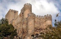 Castello di Almansa Fotografie Stock Libere da Diritti