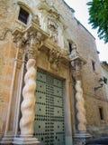 Castello di Almansa, La Mancha, Spagna della Castiglia Fotografia Stock