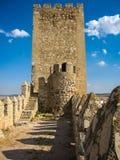 Castello di Almansa, La Mancha, Spagna della Castiglia Immagini Stock Libere da Diritti