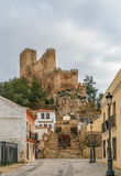 Castello di Almansa, Spagna Immagini Stock Libere da Diritti