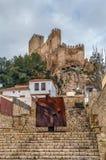Castello di Almansa, Spagna Fotografie Stock Libere da Diritti