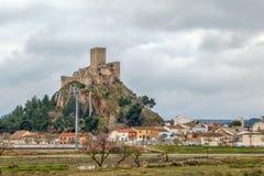 Castello di Almansa, Spagna Fotografia Stock
