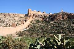 Castello di Almeria fotografia stock libera da diritti