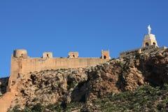 Castello di Almeria Immagini Stock