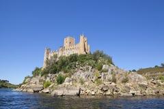 Castello di Almorol Fotografie Stock Libere da Diritti
