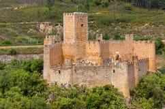 Castello di Almourol Immagini Stock