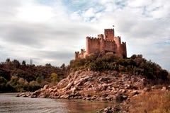 Castello di Almourol Fotografia Stock