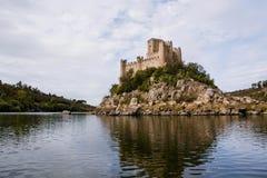 Castello di Almourol Fotografia Stock Libera da Diritti