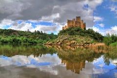 Castello di Almourol Fotografie Stock