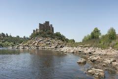 Castello di Almourol Fotografie Stock Libere da Diritti