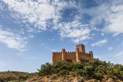 Castello di Almourol, nella città di Almourol, il Portogallo Immagini Stock Libere da Diritti