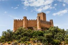 Castello di Almourol, nella città di Almourol, il Portogallo Immagini Stock