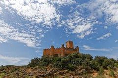 Castello di Almourol, nella città di Almourol, il Portogallo Immagine Stock