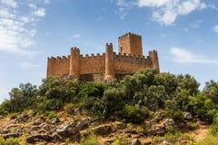 Castello di Almourol, nella città di Almourol, il Portogallo Immagine Stock Libera da Diritti