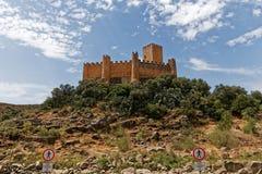 Castello di Almourol, nella città di Almourol, il Portogallo Fotografia Stock Libera da Diritti