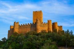 Castello di Almourol - Portogallo Immagine Stock