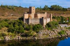 Castello di Almourol - Portogallo Fotografia Stock