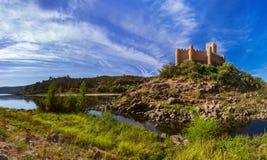 Castello di Almourol - Portogallo Fotografia Stock Libera da Diritti
