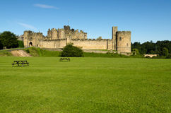 Castello di Alnwick Immagine Stock