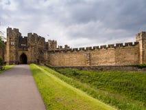 Castello di Alnwick Fotografie Stock