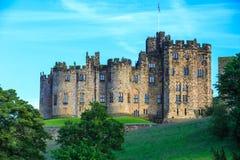Castello di Alnwick, Inghilterra Fotografia Stock