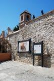Castello di Alora Fotografie Stock