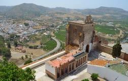 Castello di Alora Immagine Stock Libera da Diritti