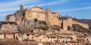 Castello di Alquezar Immagine Stock