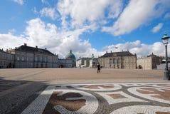 Castello di Amalienborg fotografia stock
