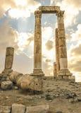 Castello di Amman Immagini Stock