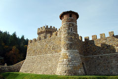 Castello Di Amorosa Royalty Free Stock Photos