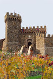 Castello Di Amorosa Royalty Free Stock Photography