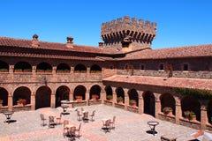 Castello di Amorosa Stockbilder