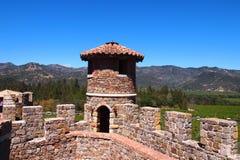 Castello di Amorosa Fotografia Stock Libera da Diritti