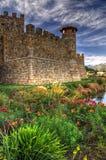 Castello di Amorosa 免版税库存图片