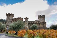 Castello di amorosa, Napa Valley, California, USA Royalty Free Stock Photography