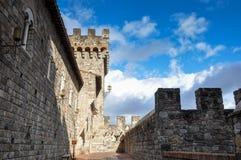 Castello di amorosa, Napa Valley, California, USA Stock Photos