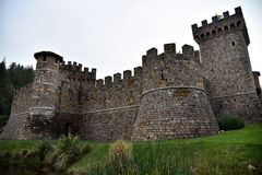 Castello di Amorosa, Napa Valley, USA Stock Photography