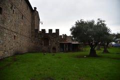 Castello di Amorosa, Napa Valley, USA Royalty Free Stock Image
