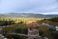 Castello di Amorosa, Napa Valley, USA Stock Images