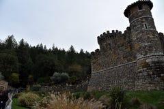 Castello di Amorosa, Napa Valley, USA Royalty Free Stock Images
