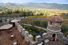 Castello di Amorosa, Napa Valley, USA Stock Photo