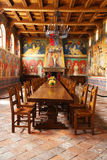 Castello Di Amorosa Winery μεγάλη αίθουσα στην κοιλάδα Napa Στοκ εικόνες με δικαίωμα ελεύθερης χρήσης
