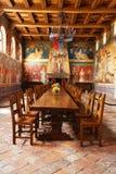 Castello di Amorosa Winery gran pasillo en Napa Valley Imágenes de archivo libres de regalías
