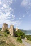 Castello di Ananuri Fotografie Stock Libere da Diritti