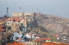 Castello di Ankara, Turchia Fotografie Stock Libere da Diritti